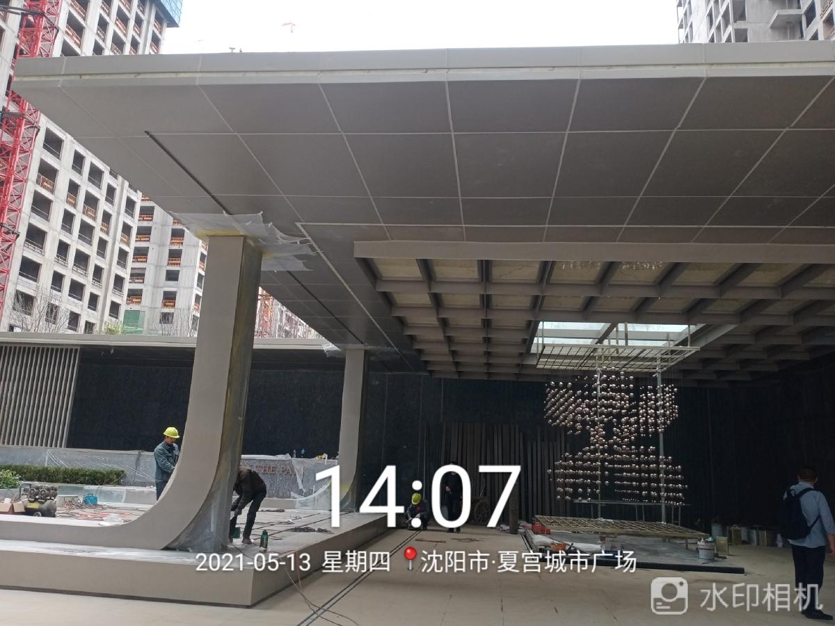 钢结构 铝单板 理石 幕墙