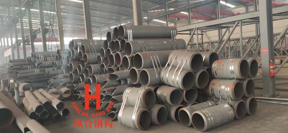 纵合钢构管桁架加工生产基地