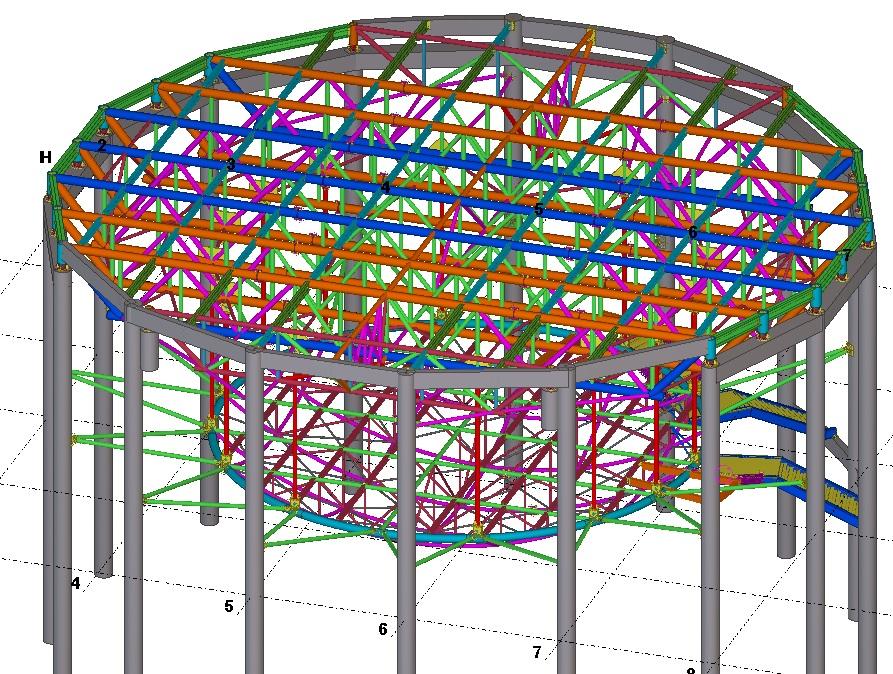 专业钢结构二次深化设计